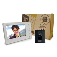 Aiphone 7 inch intercom with plastic door station