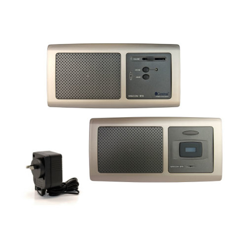 Minicom audio intercom system